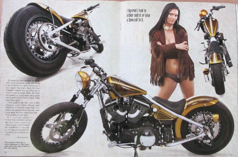 EasyRiders Magazine~Nov 2010 Sturgis Fever